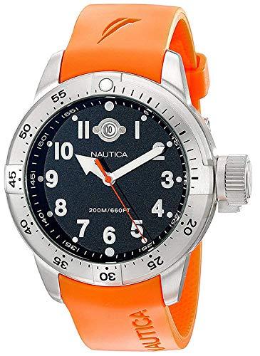 Nautica Men's N14508 BFC Stainless Steel Diver Watch (Nautica Watch Set)