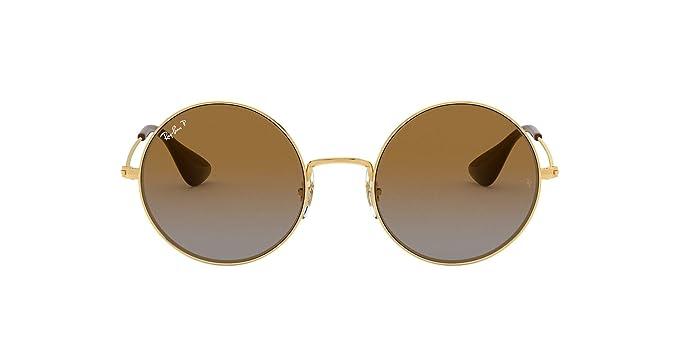 Ray-Ban 0RB3592, Gafas de Sol para Mujer, Marrón (Gold/Brown ...