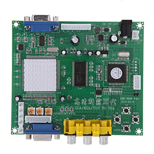 Andoer Genuine GBS8200 1 Channel Relay Module Board CGA / EGA / YUV / RGB To VGA Arcade Game Video Converter for CRT Monitor LCD Monitor PDP Monitor ()