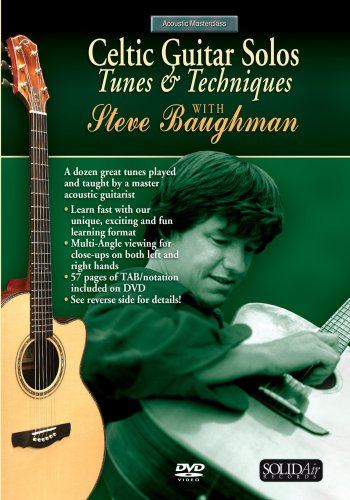 DVD : Steve Baughman - Celtic Guitar Solos: Tunes And Techniques (DVD)