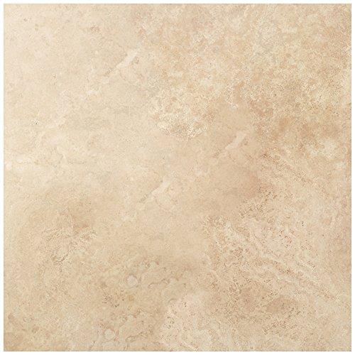 Dal-Tile T7301212TS1P Travertine Tile Mediterranean Ivory Tumbled (TS6112121P) 12 x 24