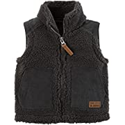 Carter's Baby Boys' 3M-24M Sherpa Lined Zip Front Vest 6 Months