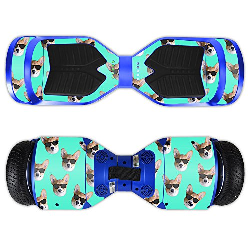 MightySkins Skin For Swagtron T3 Hover Board – Cool Corgi Protective, Durable, and Unique Vinyl Decal wrap cover | Easy To Apply, Remove, and Change Styles | Made in the USA