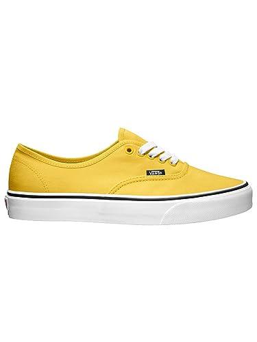 vans color amarillo