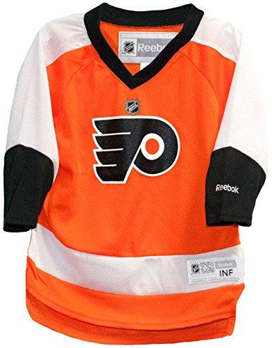 Reebok Philadelphia Flyers Home Orange NHL Toddler Jersey (2T-4T)