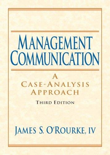 Management Communication (3rd Edition)
