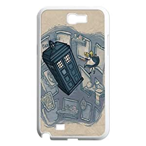 Unique Phone Case Pattern 2TV Show Doctor Who - The Police Box- For Samsung Galaxy Note 2 Case