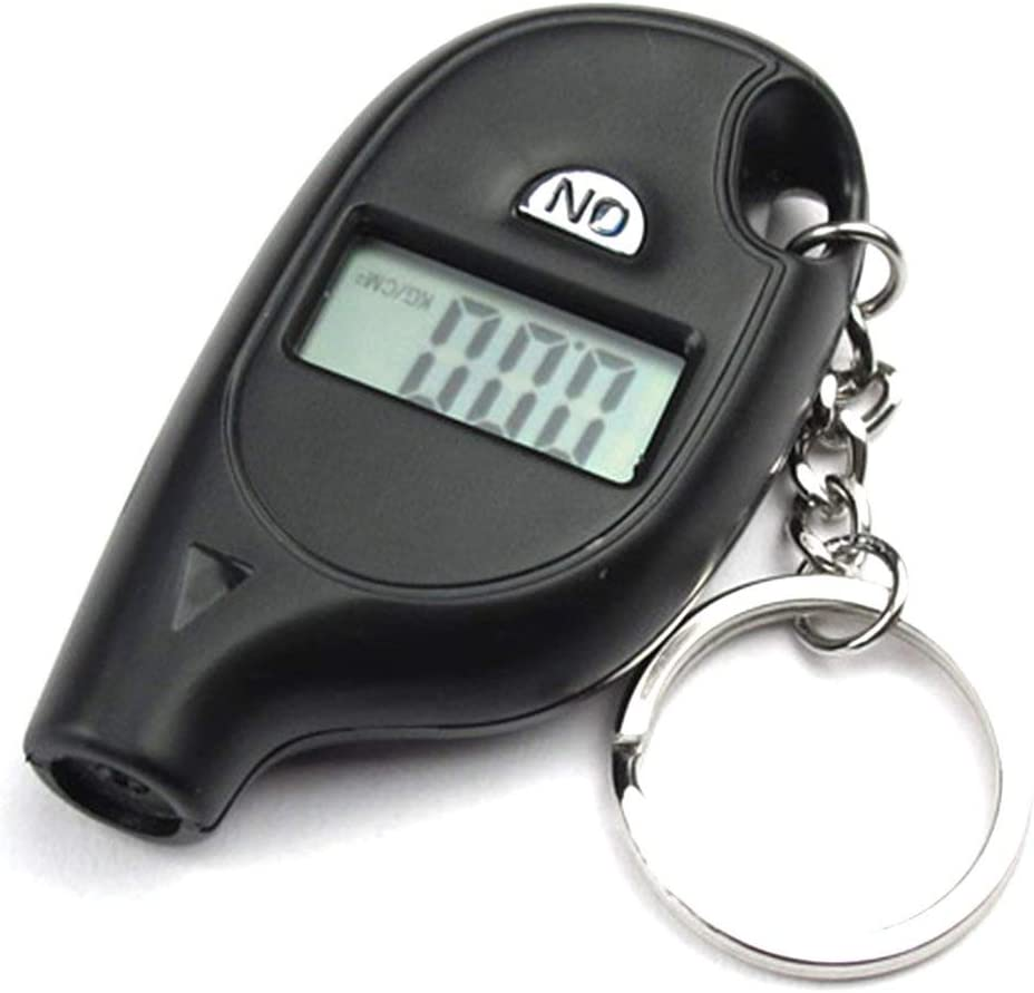 Candybarbar Mini Barometer Digital Display Pressure Math Tire Pressure Gauge Tire Table