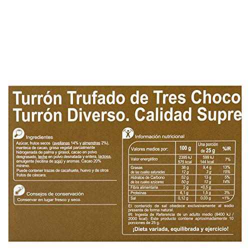 Amazon.com : 5 Pack Carrefour White Chocolate-Coated Spanish Nougat with Dark and Milk Chocolate 200g - Made In Spain - Supreme Quality - Three Different ...