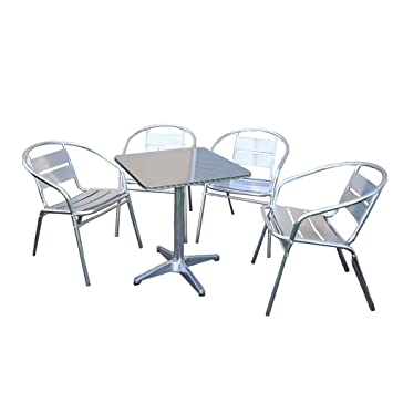 Table Carre Aluminium. Amazing Beautiful Grande Table De Jardin ...