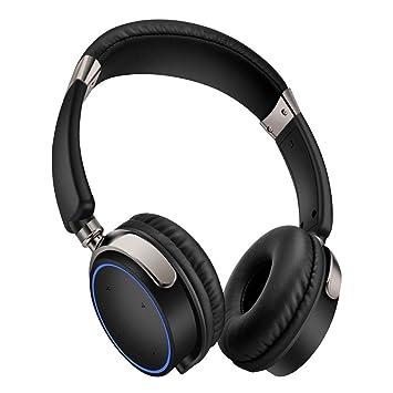 Casque De Jeu Sans Fil, Auricular De Arriba Bluetooth Surround Micrófono Antibruit Pour PC/