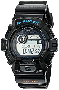 Casio Men's GWX8900-1DR G-Shock Tough Solar Multi-Band Atomic Watch