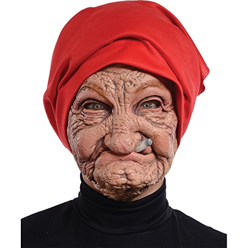 [Morris Costumes Halloween Party Old Nana Latex Mask] (Scary Halloween Costumes Mens)