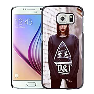 New Custom Designed Cover Case For Samsung Galaxy S6 With Rebecca Crow Girl Mobile Wallpaper.jpg