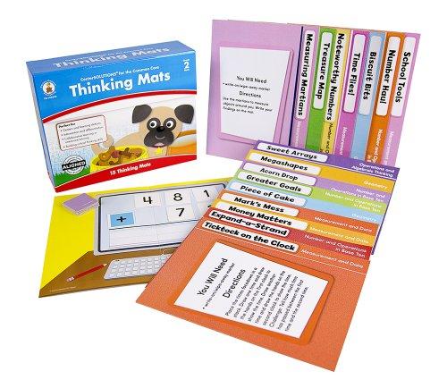 Carson Dellosa Thinking Mats Classroom Support Materials (140340) by Carson-Dellosa