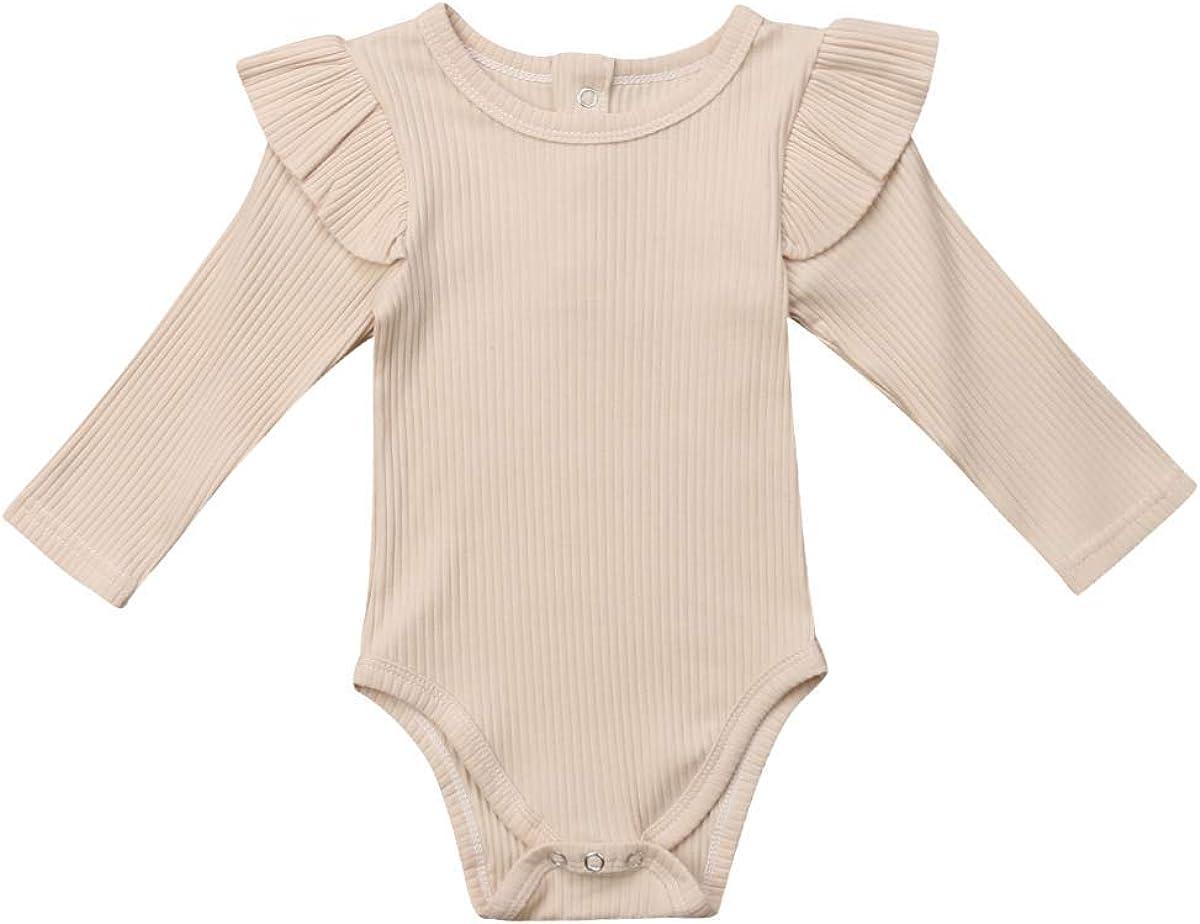 Flutter Sleeve Organic Cotton G Tube Bodysuit