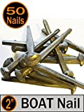 (50) 2'' - BOAT NAILS - Antique style Boat Nail