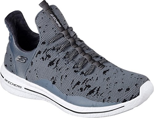 Burst Shoes Grey Skechers Sneakers Ccbk Women z5nvt