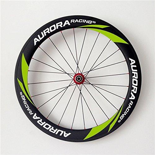 Aurora Racing ciclocross bicicleta Clincher ruedas de freno de disco 60 - 23 mm de carbono 20/24 agujeros: Amazon.es: Deportes y aire libre