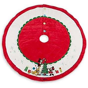 Lovely Mickey Mouse And Friends Tree Skirt   Holiday