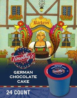 GERMAN CHOCOLATE CAKE K CUP COFFEE 120 COUNT