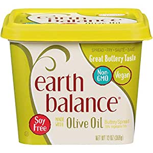 Earth Balance Buttery Spread Made With Olive Oil Vegan