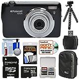 Polaroid iEX29 18MP 10x Digital Camera (Black) with 32GB Card + Case + Tripod + Accessory Kit