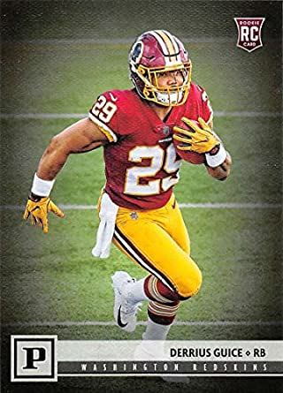2018 Panini NFL Football  314 Derrius Guice Washington Redskins RC Rookie  Card b286fb347