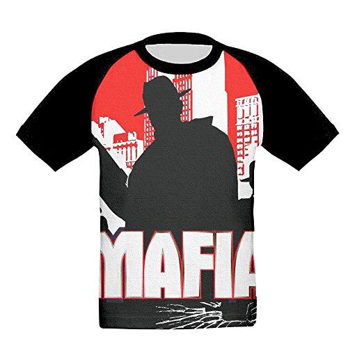 Mafia Toddler T-shirt (Mafia World Jersey Baseball Tee T Shirts For Kids Toddler Baby Boys Girls)