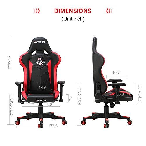 Kinsal Large Gaming Chair Amazon Com Kinsal Ergonomic