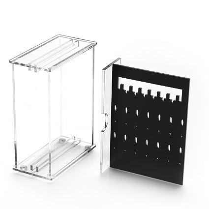 Amazoncom Weiai Acrylic Mini Jewelry Storage Box Earring Display