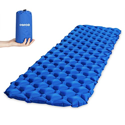 LOPOO Sleeping Pad Outdoor Quick Inflation Mat