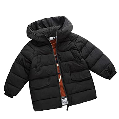 ab41dde2b Amazon.com: Toddler Baby Girls Boys Winter Warm Clothes Wadded Jacket Kids  Long Sleeve Thick Coat Outerwear 2-7 Years Old: Clothing