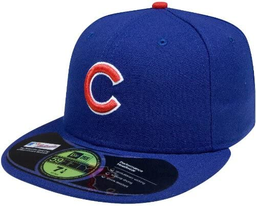 Chicago Cubs 2016 World Series New Era 59Fifty Low Profile Fitted Hat Cap 7 3//8