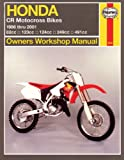 Honda Cr Motocross Bikes Owners Workshop Manual, 86-01, Alan Ahlstrand and J. H. Haynes, 1563924218