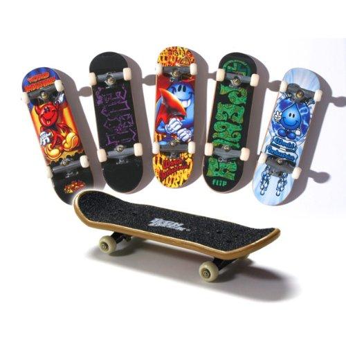 Tech Deck 96mm Bonus Pack 6 Pcs. Set Lot / Includes 6 Randome Single Fingboard Skateboards