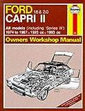 Ford Capri II All Models 1974-87 Owner's Workshop Manual (Service & repair manuals)