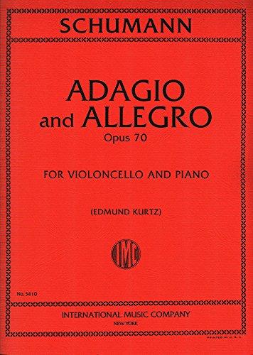 SCHUMANN - Adagio y Allegro Op.70 para Violoncello y Piano (Kurtz) PDF