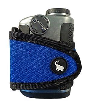 Review NEW Monument Golf Stick It Universal Magnetic Range Finder Blue Strap/Holder
