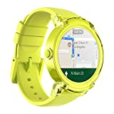 Ticwatch E Super Lightweight Smartwatch-Lemon,1.4 inch OLED Display, Android Wear 2.0,Compatible with iOS and Android, Google Assistant