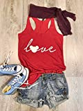 Disney Love. Love Mickey. True To Women's Fit. Eco Friendly Ink Screen Printed. Hand Made. Heather Gray. Women's Eco Tri-Blend Tanks. Women Clothing. Disney Inspired Tank. Super Soft Tank.