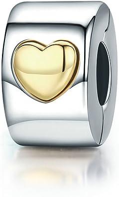 pandora charms clip coeur