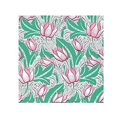 V&A - Tarjeta de felicitación de tulipanes con sobre blanco ...