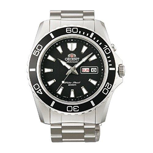 Orient Men's CEM75001B 200m Diver Watch21 Jewels Black Watch