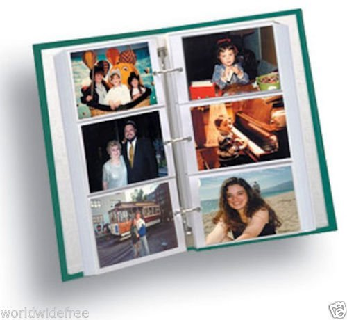 Bulk Pack Pioneer RST-6 4x6 Photo Album Refill for STC-46, STC-504 - 80 Pages (40 Sheets) by Pioneer