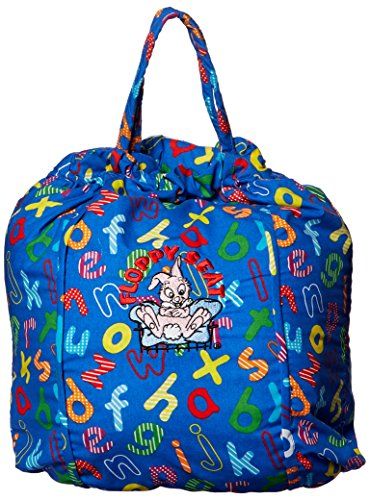 Image of Floppy Seat Ez Carry Shopping Cart and High Chair Cover, Blue ABC