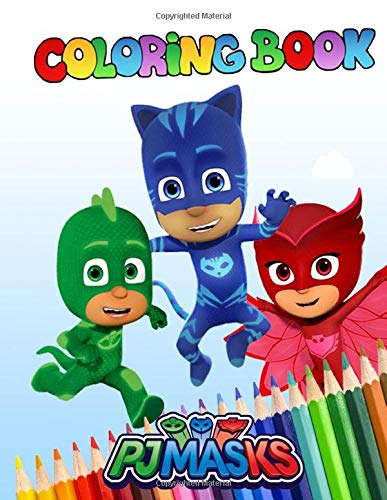 Pj Masks Coloring Book Pj Mask Coloring Book With Exclusive Images For Kids And Teen Us Edition Publishing Pj Mask Coloring Book 9781652183648 Amazon Com Books