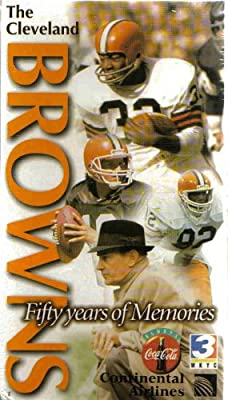 The Cleveland Browns : Fifty Years of Memories