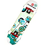 Punisher Skateboards Essence Complete 31-Inch Skateboard with Canadian Maple