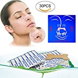 Nasal Strips, Stop Snore, Nasal Congestion Relief & Improved Breathing, Soft & Comfortable, Blocked Nose Strips For Men & Women, For Snoring, Common Cold & Allergies, 30PC